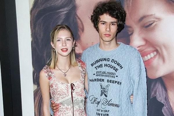 Laura Dern's son Ellery Harper and his girlfriend Beanie Boylston