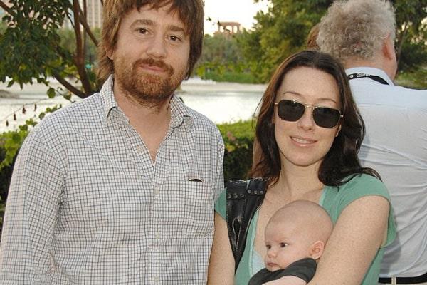 Molly Parker's son William Strummer Bissonnette