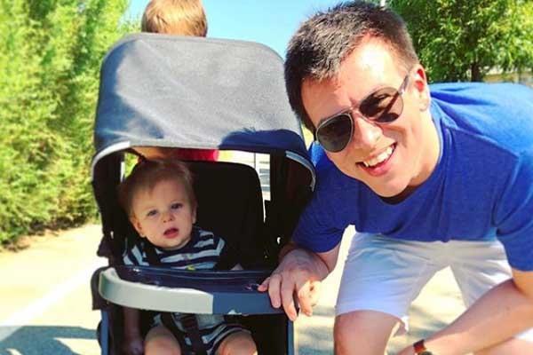 Philip DeFranco's son Carter William DeFranco