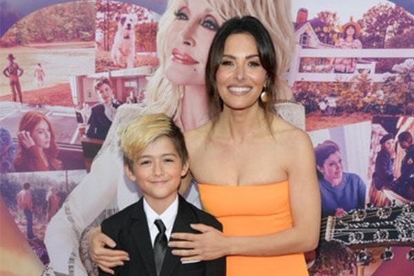 Meet William Wolf Howey - Photos Of Sarah Shahi's Son With ...