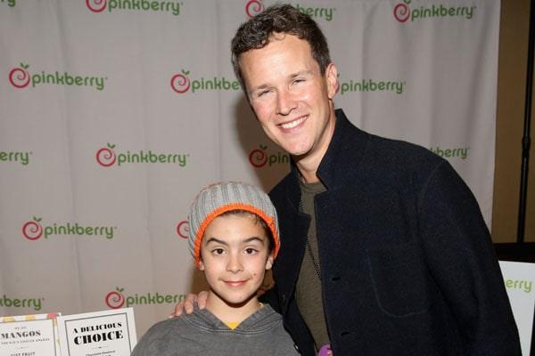 Scott Weinger's son Mischa Weinger