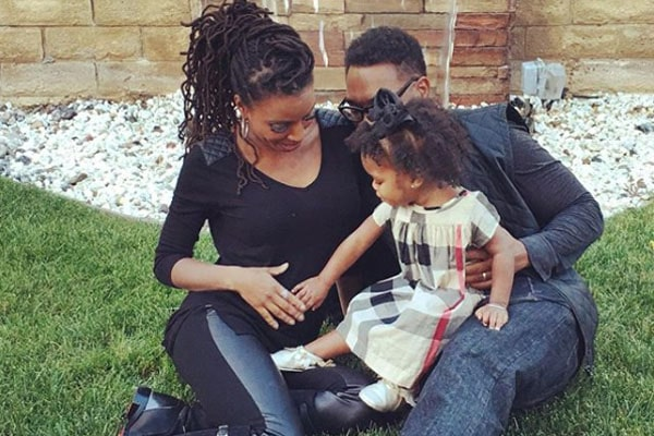 Shanola Hampton's daughter Cai MyAnna Dukes