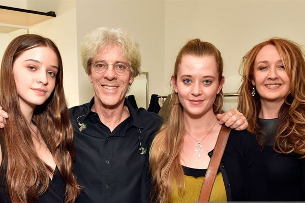 Stewart Copeland's daughters Eve, Dylan and Celeste Copeland