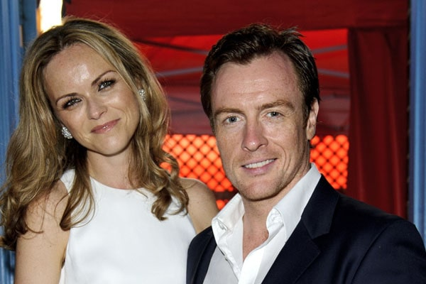 Toby Stephens' wife Anna-Louise Plowman