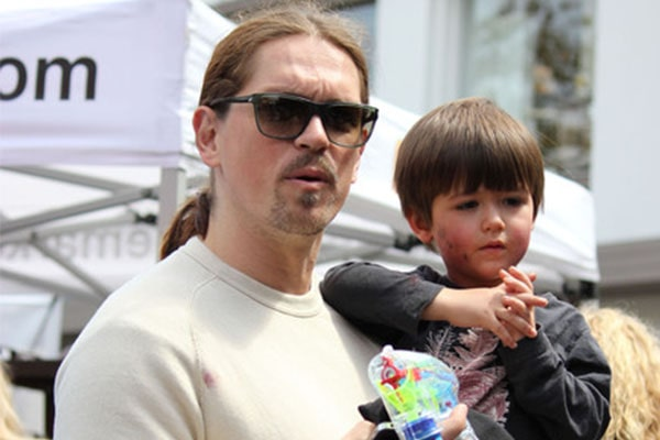 Sarah Shahi's Son William Wolf Howey with Husband Steve Howey