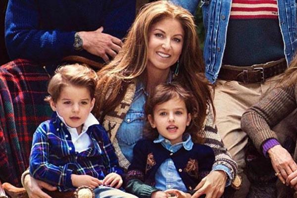Dylan Lauren's children Kingsley Rainbow and Cooper Blue
