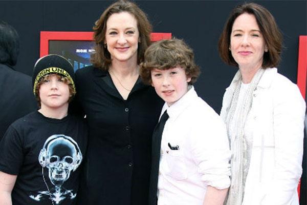 Joan Cusack's son Dylan Burke With Husband Richard Burke