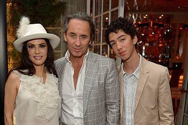 Adriana De Moura's Son