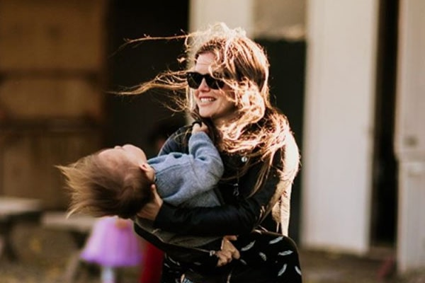 Rachel Bilson's Daughter Briar Rose Christensen