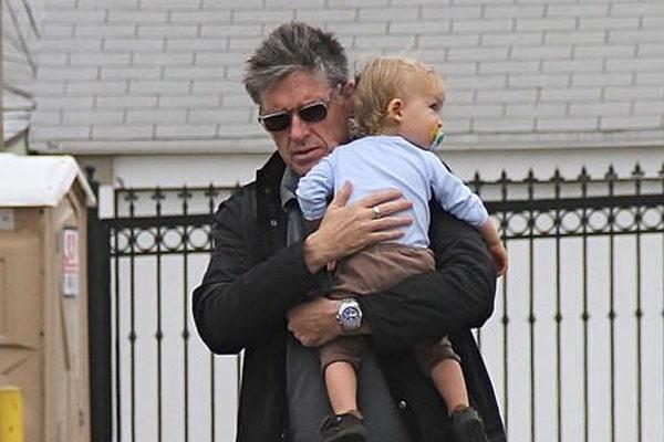 Craig Ferguson's Son Liam James Ferguson with wife Megan Wallace Cunninghum