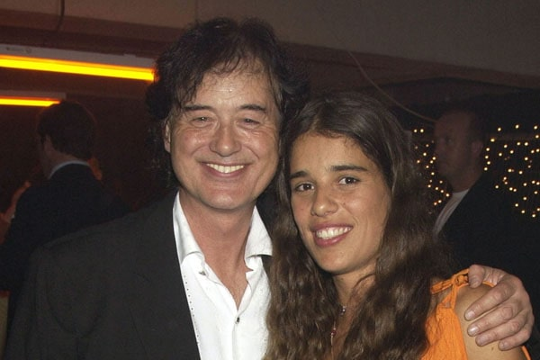 Jimmy Page's daughter Zofia Jade Page