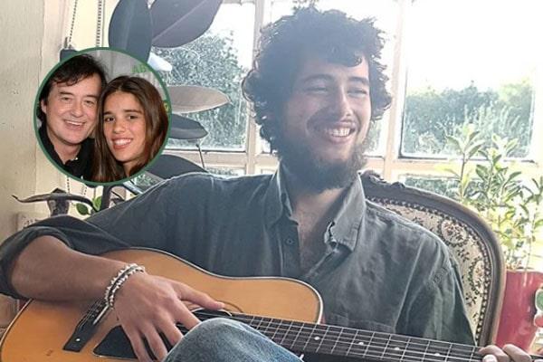 Jimmy Page's Son Ashen Josan Page