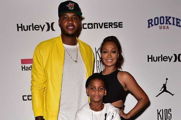 La La Anthony's son Kiyan Carmelo Anthony
