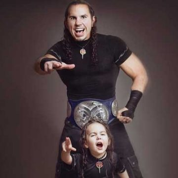 Meet Maxel Hardy – Photos Of Matt Hardy's Son With Wife Reby Sky