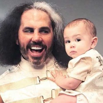 Meet Wolfgang Xander Hardy – Photos Of Matt Hardy's Son With Wife Reby Sky