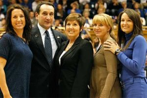 Mike Krzyzewski's daughters