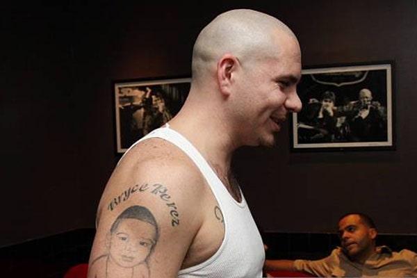 Pitbull's Son Bryce Perez