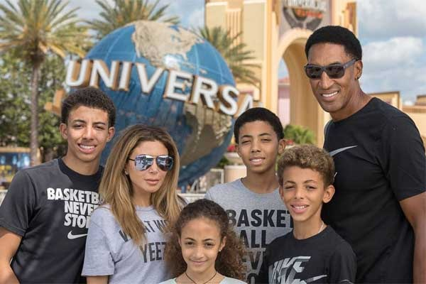 Scottie Pippen's family