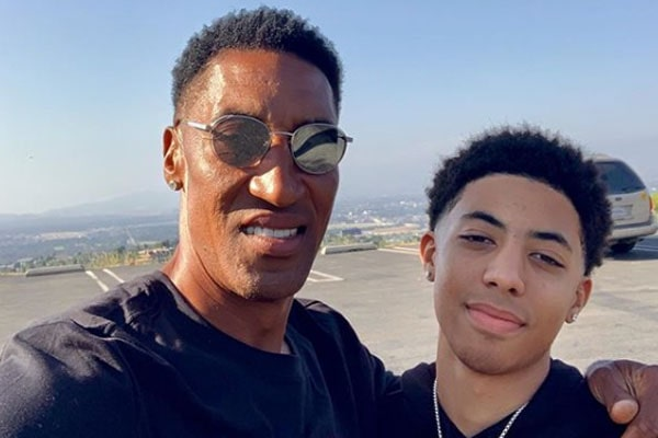 Scottie Pippen's Son Preston Pippen