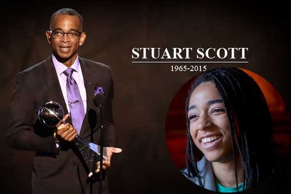 Stuart Scott's daughter Sydni Scott