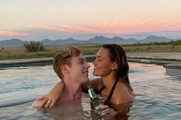 YouTuber Joshua Pieters' girlfriend Eleanor Butler