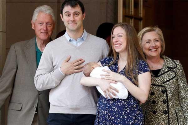 Chelsea Clinton's son Adian Clinton Mezvinsky
