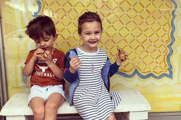 "Daphne Oz's daughter Philomena ""Philo"" Bijou Jovanovic"