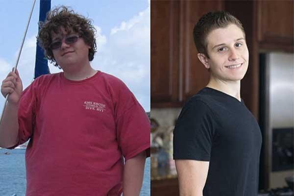 Joshua Weissman loss weight
