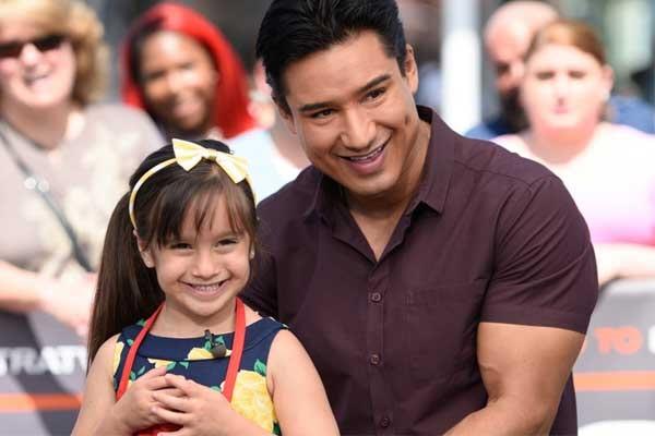 Mario Lopez's daughter Gia Francesca Lopez