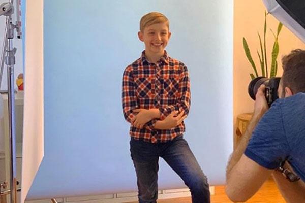 Melissa Schuman's Son Elin Elijah Henschel