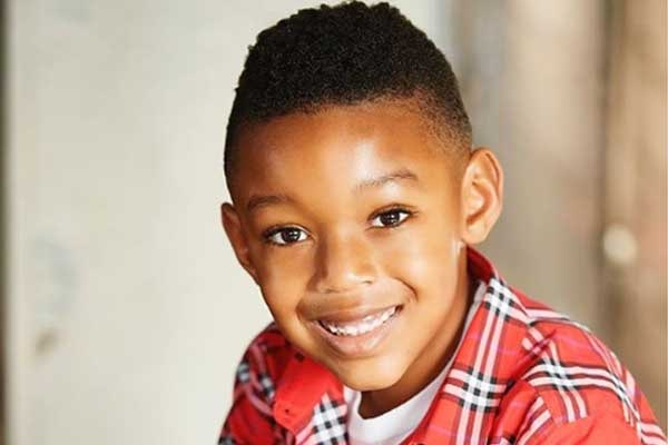 Monique Samuels' son Christopher Samuels