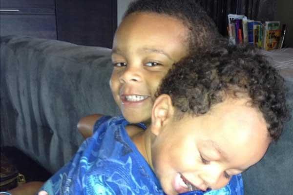 Robyn Dixon's sons