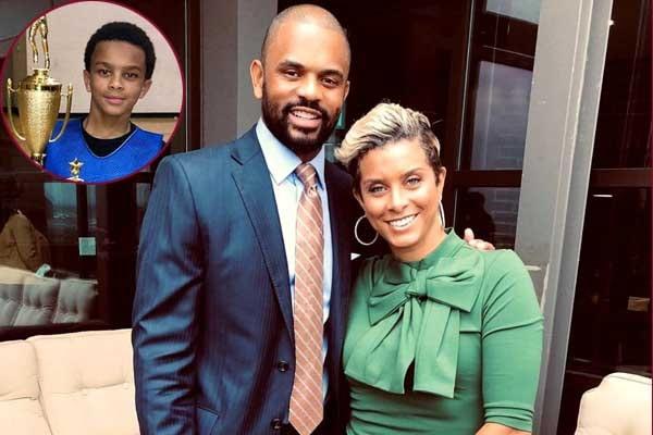 Robyn Dixon's son Corey Dixon