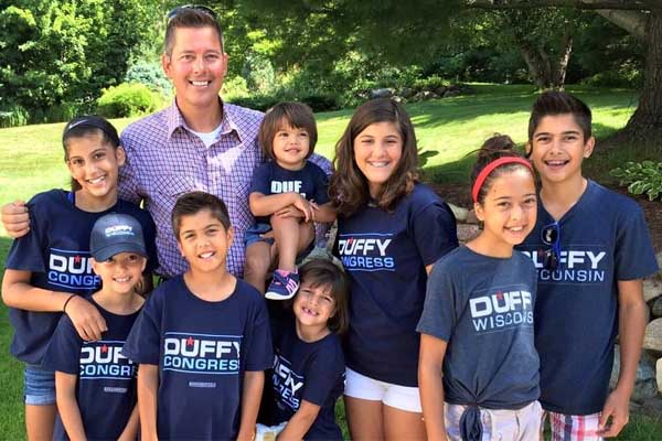 Sean Duffy's children