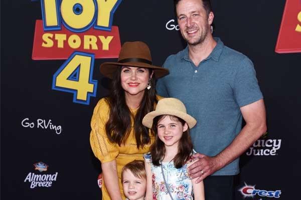 Tiffani Thiessen's son Holt Fisher Smith