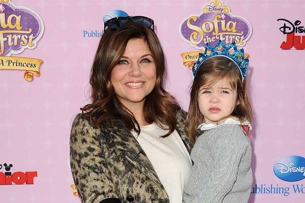 Tiffani Thiessen's daughter Harper Smith