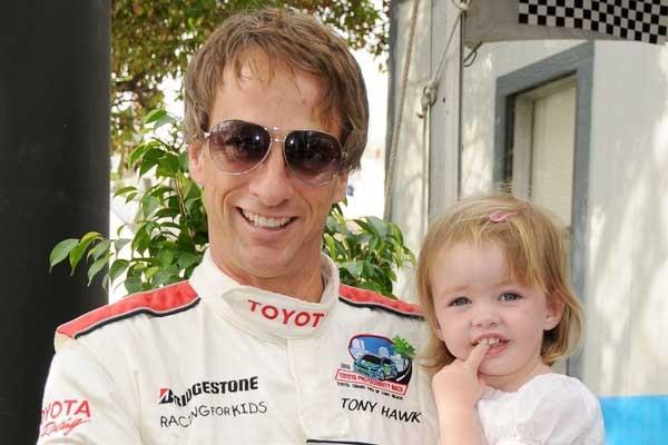 Tony Hawk's daughter Kadence Clover Hawk