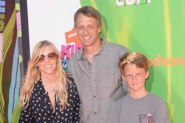 Tony Hawk's son Keegan Hawk