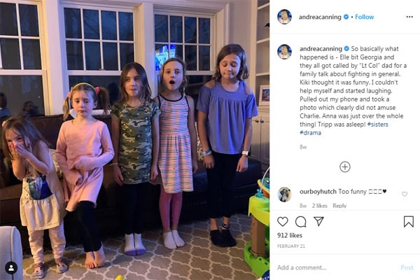 Andrea Canning's daughters