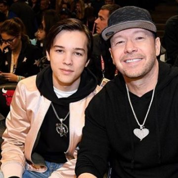 Meet Elijah Hendrix Wahlberg – Photos Of Donnie Wahlberg's Son With Kimberly Fey