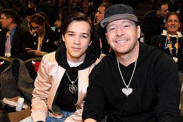 Donnie Wahlberg's son, Elijah Hendrix Wahlberg