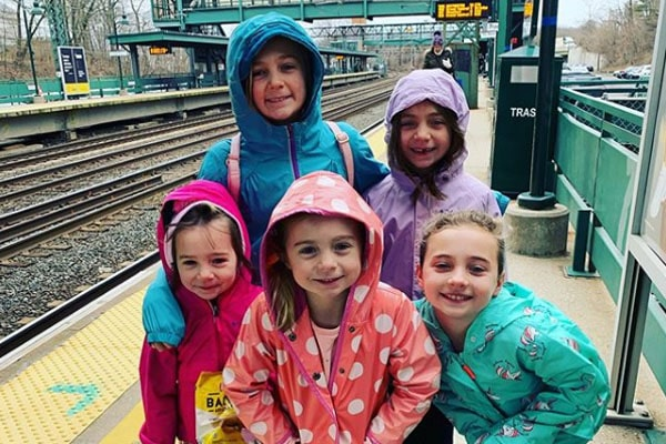 Andrea Canning's five daughters