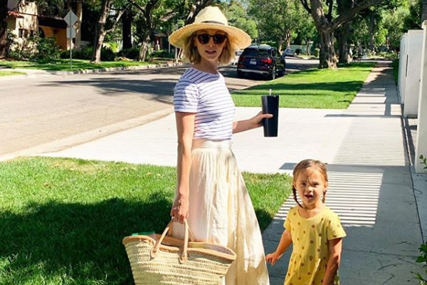 Candice King's daughter, Florence May King
