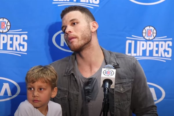 Blake Griffin's son, Ford Wilson Cameron-Griffin