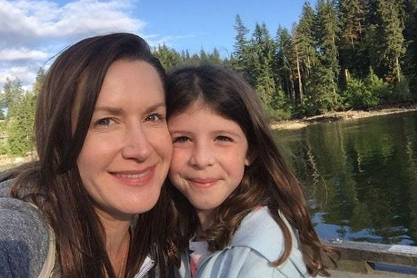 Angela Kinsey's daughter, Isabel Ruby Lieberstein