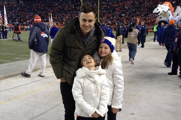 Joe King's daughters, Elise And Ava King