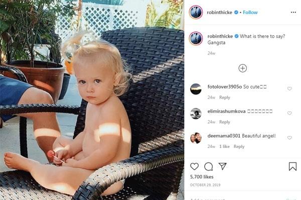 Robin Thcike's daughter, Mia Love Thicke
