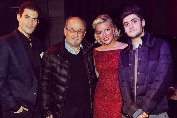 Milan Rushdie's family