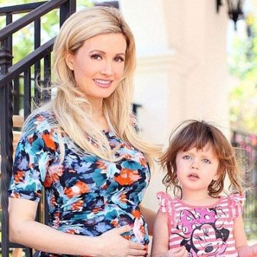 Meet Rainbow Aurora Rotella – Photos Of Holly Madison's Daughter With Ex-husband Pasquale Rotella