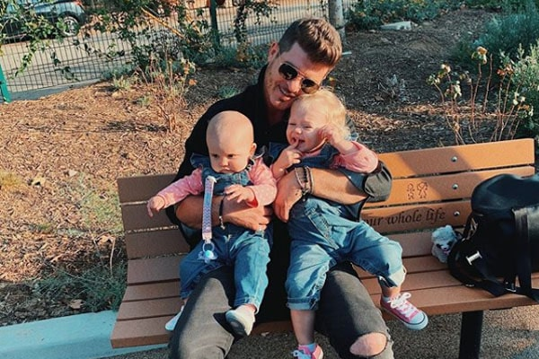 Robin Thicke's daughters